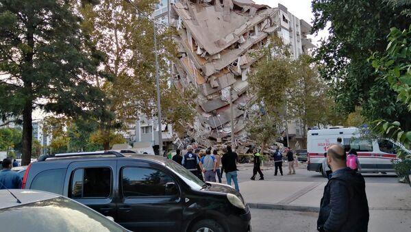 Землетрясение в Турции - Sputnik Ўзбекистон