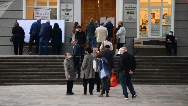 Парламентские выборы в Грузии 2020 - Sputnik Узбекистан