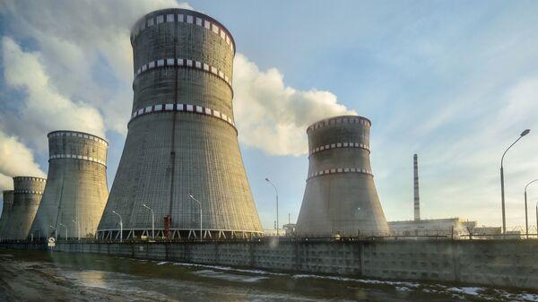 Ровенская атомная электростанция в Кузнецовске, Украина - Sputnik Узбекистан