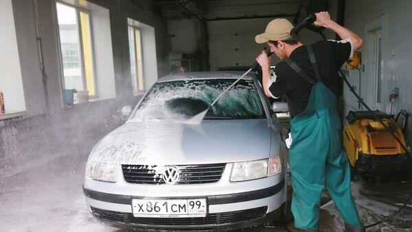 Автомойка - Sputnik Узбекистан