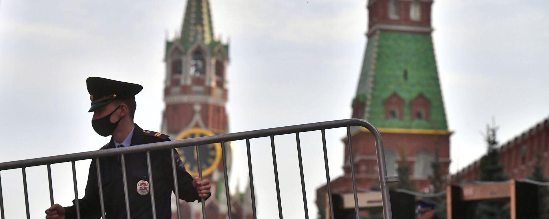Москва в период коронавирусной инфекции - Sputnik Узбекистан, 1920, 01.08.2021