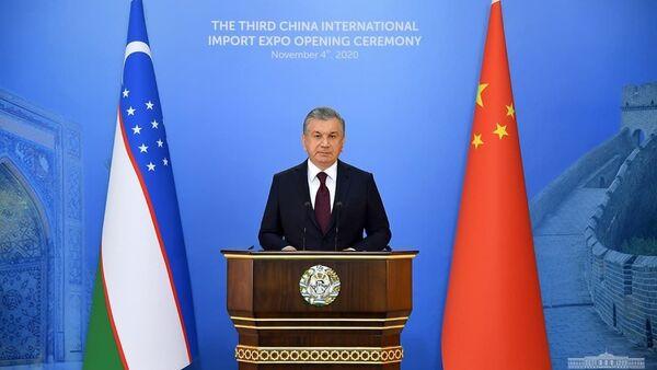 Prezident Shavkat Mirziyoyev - Sputnik Oʻzbekiston