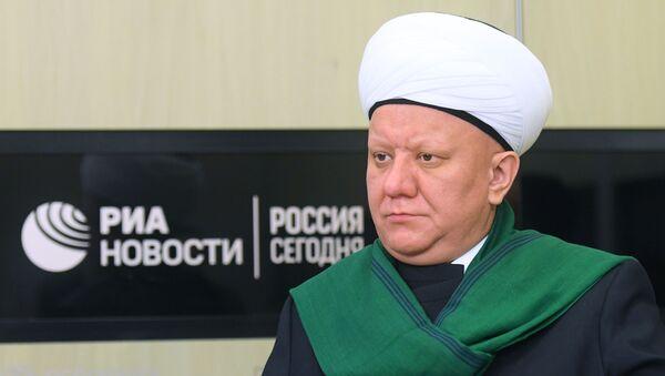 Muftiy Albir Krganov - Sputnik Oʻzbekiston