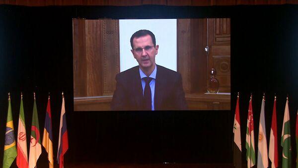 Асад заявил, что США мешают возращению сирийских беженцев на родину - Sputnik Узбекистан