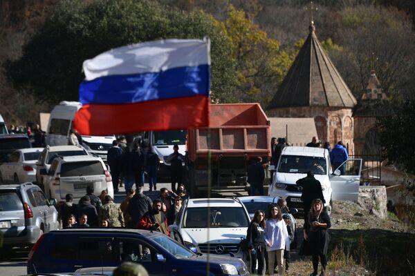 Rossiya tinchlikparvar kuchlari - Sputnik Oʻzbekiston
