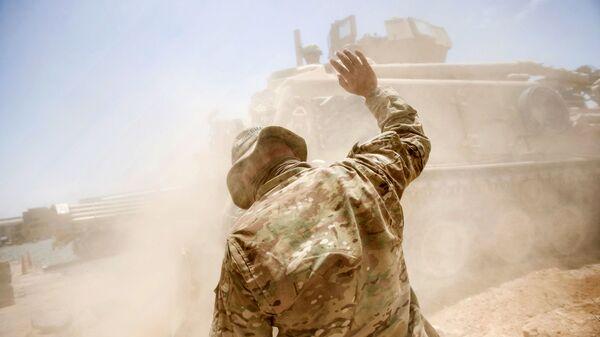 Американский военный в Афганистане - Sputnik Узбекистан
