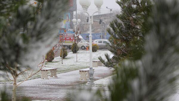 Снег в Узбекистане - Sputnik Узбекистан