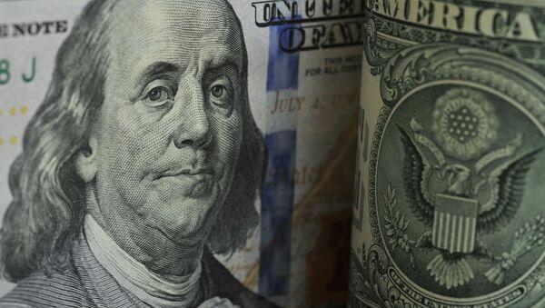 Банкнота номиналом 100 долларов США - Sputnik Узбекистан
