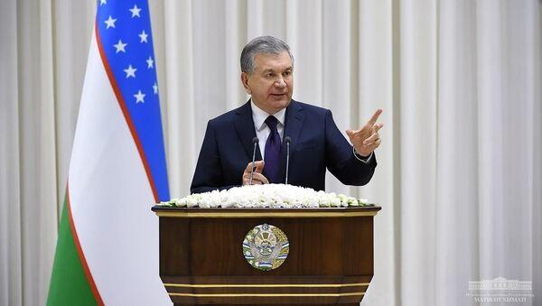 Мирзиёев на встрече с активом Чиланзарского района - Sputnik Узбекистан