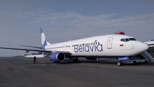 Самолет Belavia - Sputnik Узбекистан
