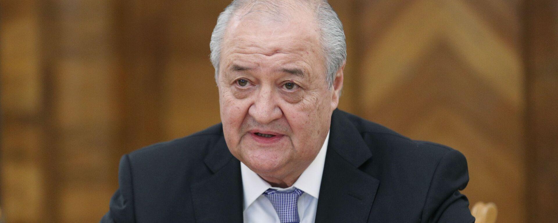 Министр иностранных дел Узбекистана Абдулазиз Камилов - Sputnik Узбекистан, 1920, 14.07.2021