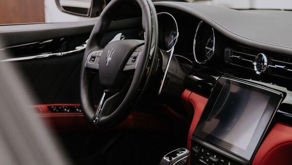 Салон автомобиля Maserati - Sputnik Узбекистан