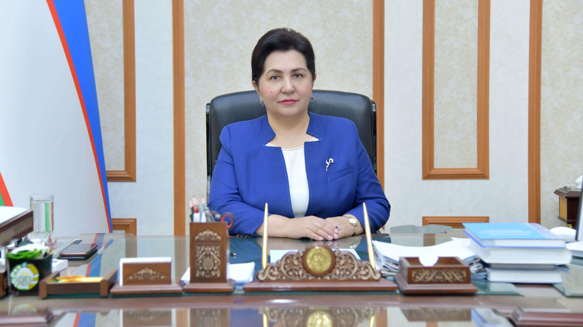 Председатель Сената Олий Мажлиса Узбекистана Танзила Нарбаева - Sputnik Узбекистан, 1920, 12.10.2021