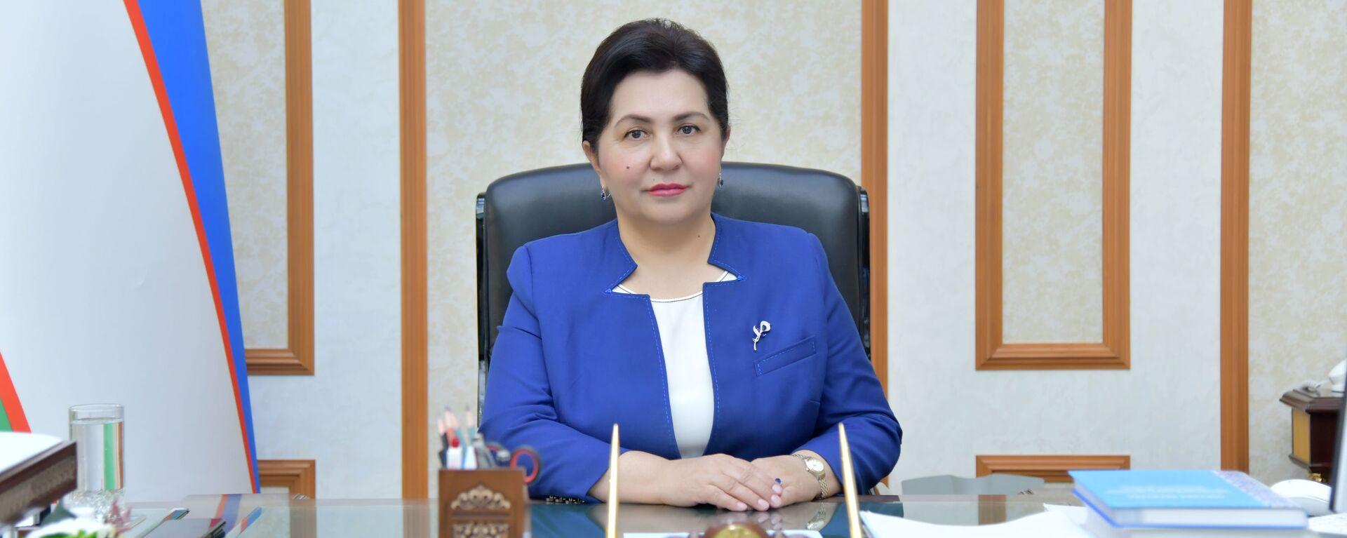 Председатель Сената Олий Мажлиса Узбекистана Танзила Нарбаева - Sputnik Узбекистан, 1920, 30.06.2021