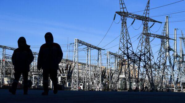 Гидроэлектростанция  - Sputnik Узбекистан