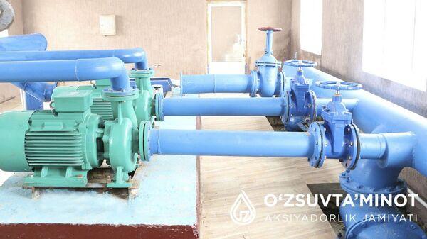 В Сардобу впервые провели централизованное водоснабжение и канализацию - Sputnik Ўзбекистон