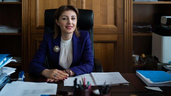 Директор департамента развития интеграции ЕЭК Гоар Барсегян - Sputnik Узбекистан