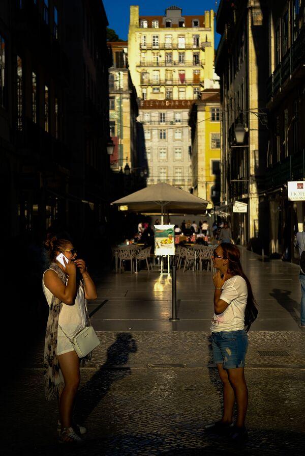 Lissabon, poluchivshiy zvaniye World's Leading City Break Destination 2020 - Sputnik Oʻzbekiston