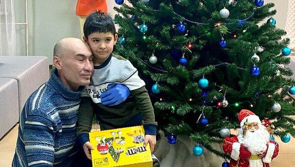 Амаль и его папа - Sputnik Ўзбекистон