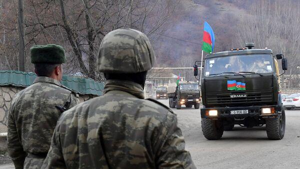 Азербайджанская армия - Sputnik Ўзбекистон