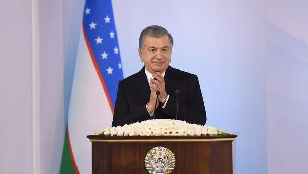 Президент Шавкат Мирзиёев принял участие и выступил на церемонии открытия Ташкентского металлургического завода - Sputnik Ўзбекистон