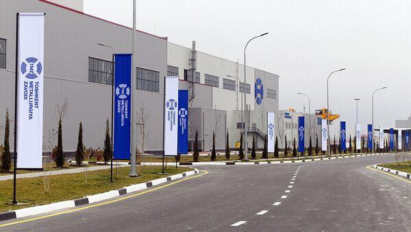 Открытие Ташкентского металлургического завода - Sputnik Узбекистан