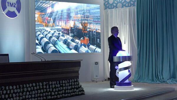 Запуск Ташкентского металлургического завода - Sputnik Узбекистан
