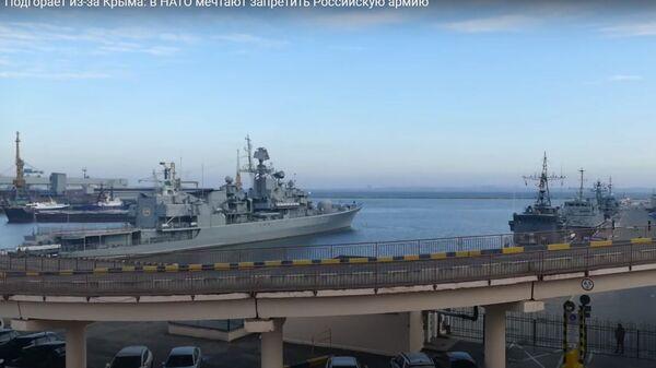 Крым не дает покоя? Зачем НАТО мечтает запретить российскую армию - Sputnik Ўзбекистон