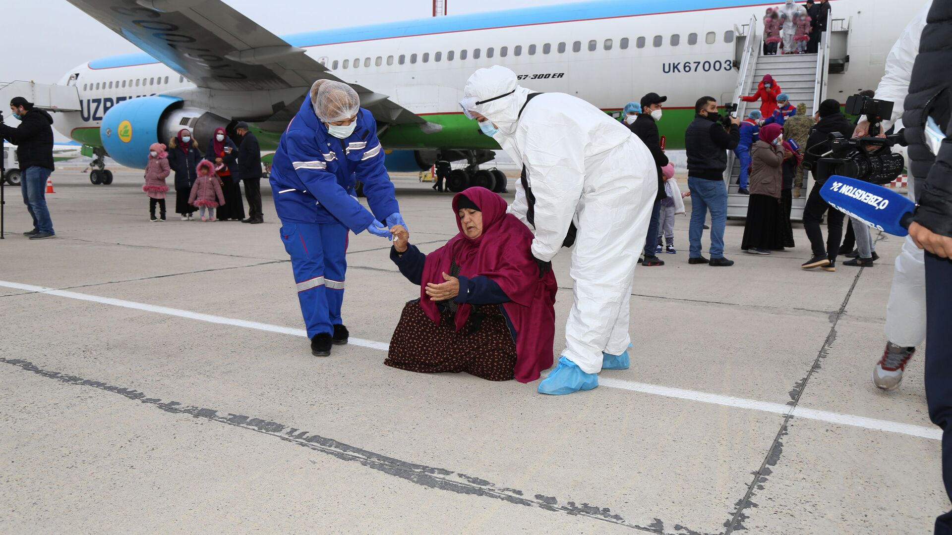 Власти Узбекистана вернули из Сирии почти 100 соотечественников - Sputnik Узбекистан, 1920, 06.07.2021