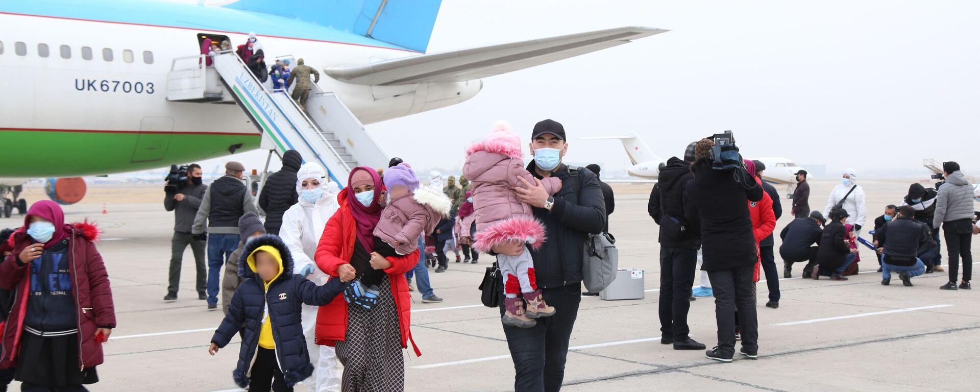 Власти Узбекистана вернули из Сирии почти 100 соотечественников - Sputnik Узбекистан, 1920, 26.03.2021
