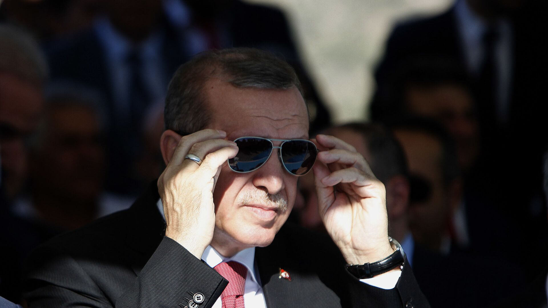 Президент Турции Реджеп Эрдоган - Sputnik Ўзбекистон, 1920, 07.09.2021