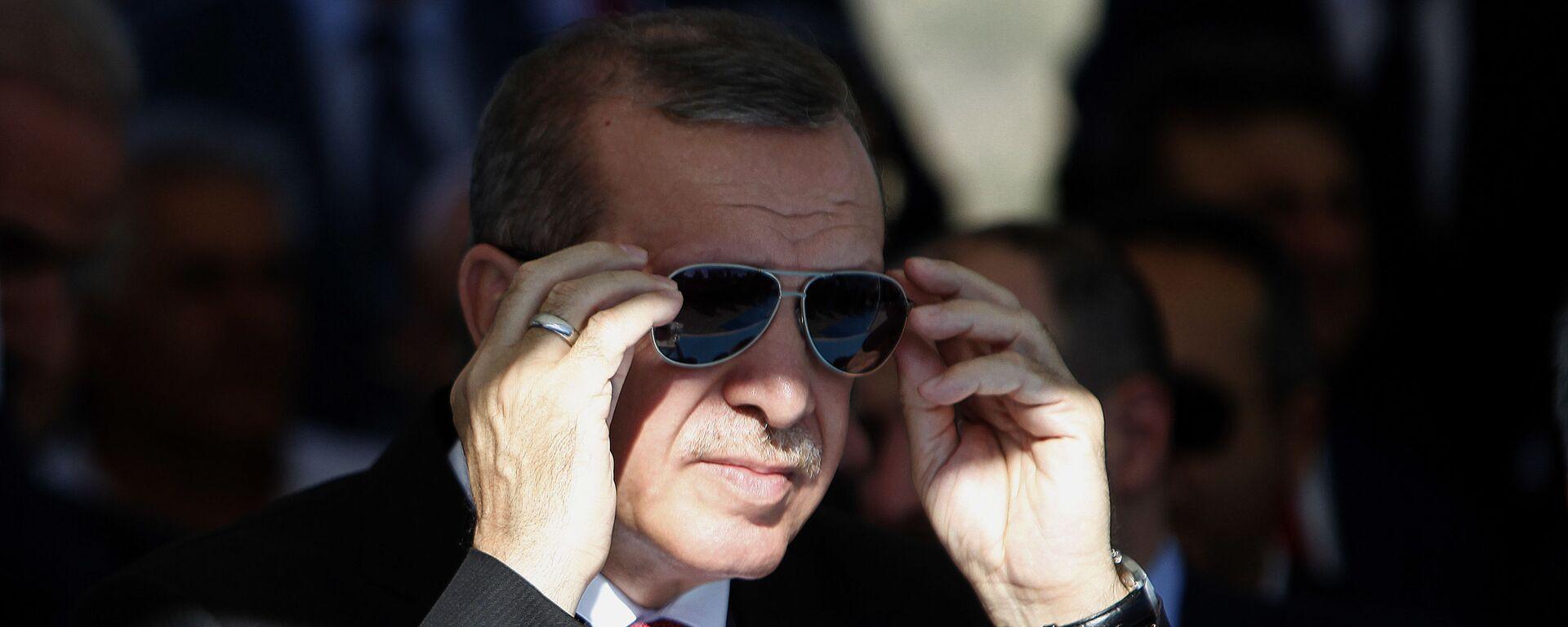 Prezident Turtsii Redjep Erdogan - Sputnik Oʻzbekiston, 1920, 07.09.2021