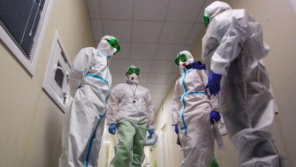 Инфекционный госпиталь - Sputnik Узбекистан