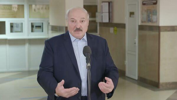 Лукашенко отреагировал на санкции МОКа   - Sputnik Ўзбекистон