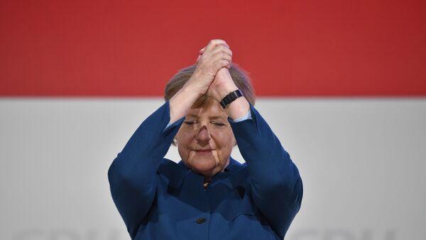 Канцлер Германии Ангела Меркель  - Sputnik Ўзбекистон