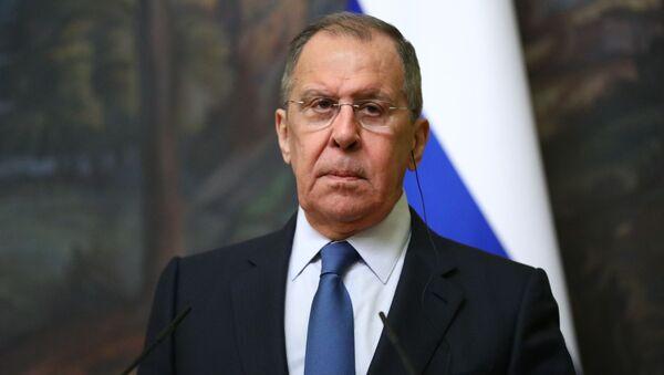 Министр иностранных дел РФ Сергей Лавров - Sputnik Ўзбекистон