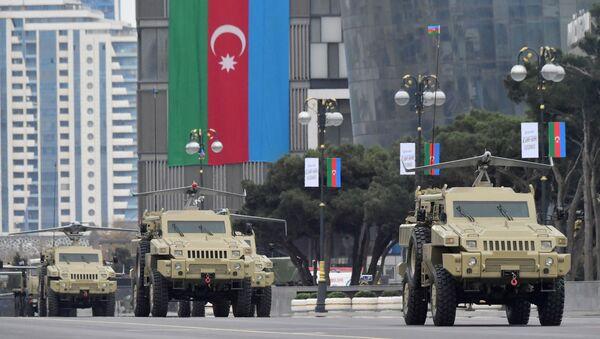 Парад победы в Азербайджане  - Sputnik Ўзбекистон