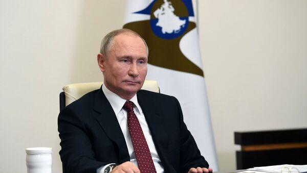 Президент РФ В. Путин принял участие в заседании ВЕЭС - Sputnik Ўзбекистон