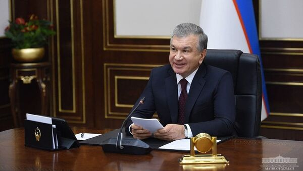 Президент Узбекистана Шавкат Мирзиёев участвует в видеозаседании Высшего совета ЕАЭС - Sputnik Ўзбекистон