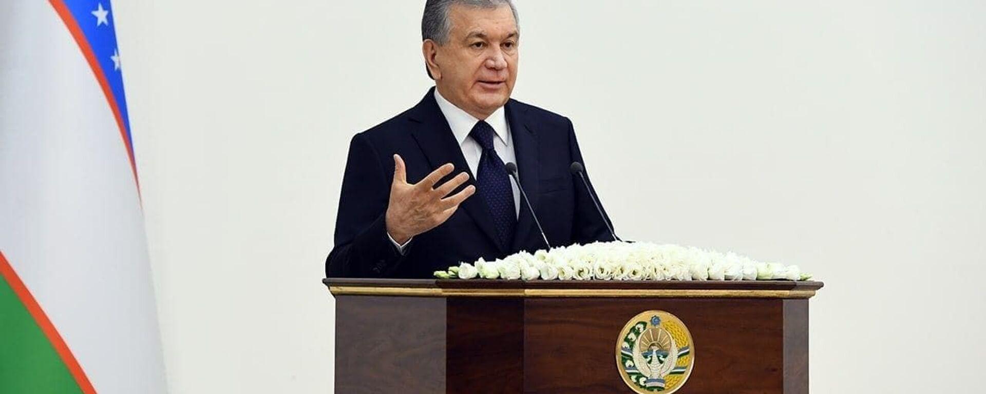 Prezident Uzbekistana Shavkat Mirziyoyev - Sputnik Oʻzbekiston, 1920, 13.12.2020