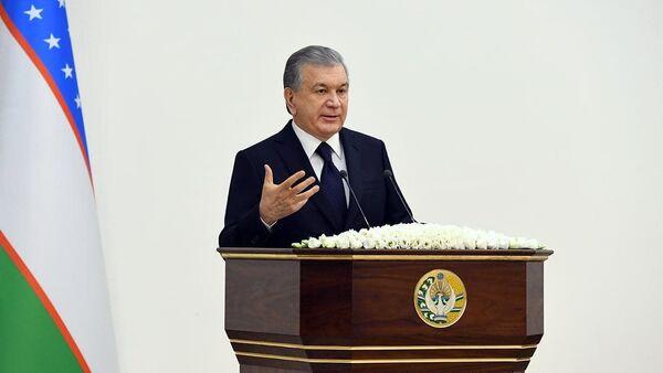 Шавкат Мирзиёев на совещании в Ургенче - Sputnik Узбекистан