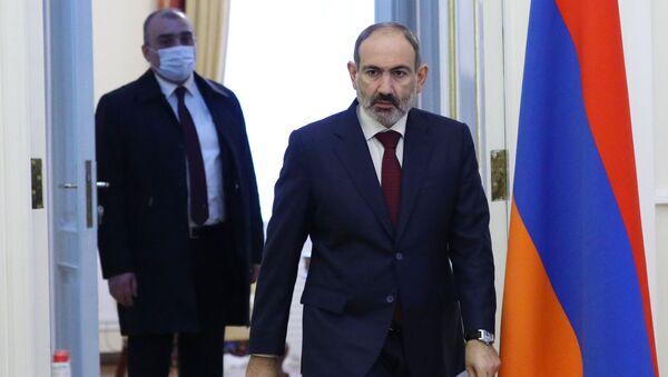 Премьер-министр Армении Никол Пашинян  - Sputnik Ўзбекистон