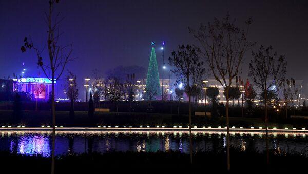 Елка в Ташкент-сити - Sputnik Узбекистан