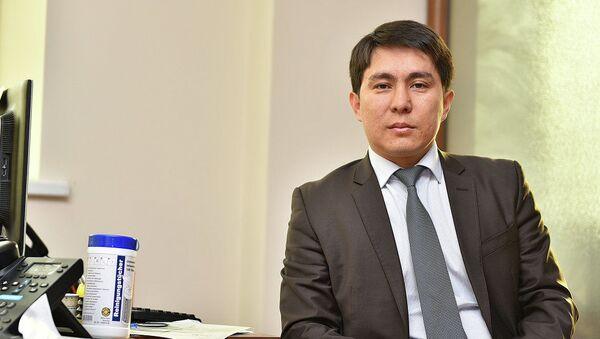 Spetsialnыy predstavitel pravitelstva KR po delam v Yevraziyskom ekonomicheskom soyuze Almaz Sazbakov - Sputnik Oʻzbekiston
