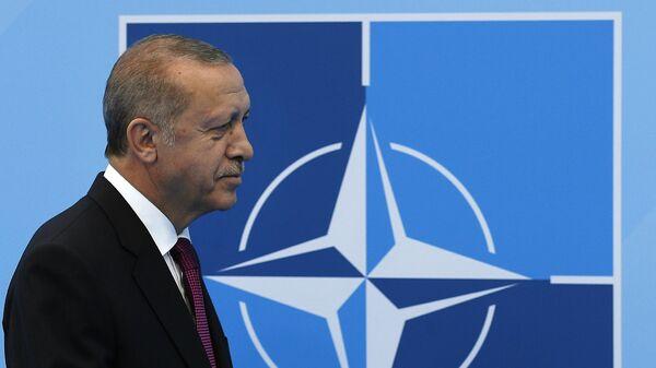 Prezident Turtsii Redjep Erdogan - Sputnik Oʻzbekiston