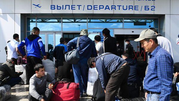 Вывозной рейс из Новосибирска в Ташкент  - Sputnik Узбекистан