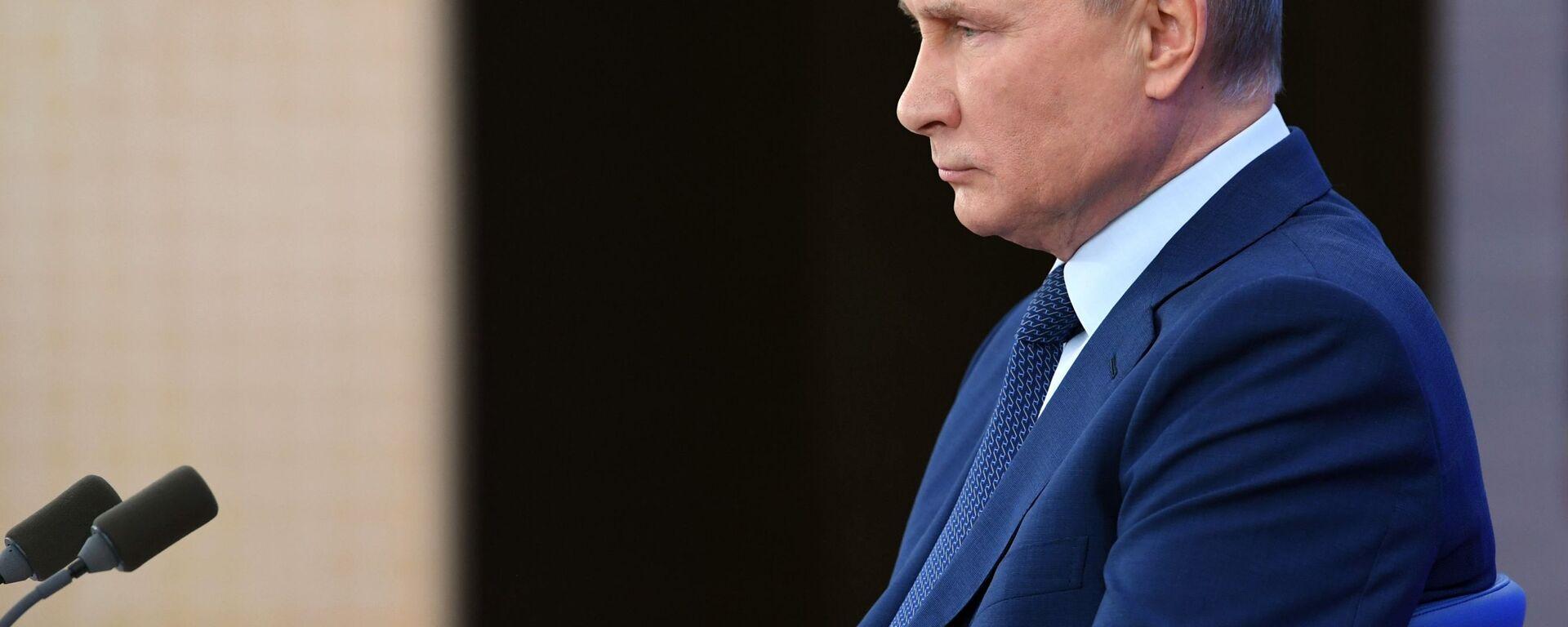 Prezident RF Vladimir Putin - Sputnik Oʻzbekiston, 1920, 01.07.2021