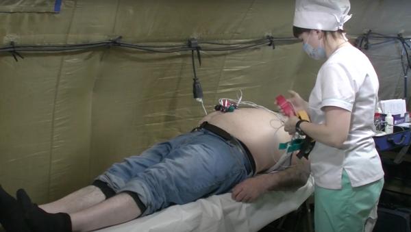 Более 700 жителей Нагорного Карабаха получили квалифицированную помощь в полевом госпитале МО РФ - Sputnik Ўзбекистон