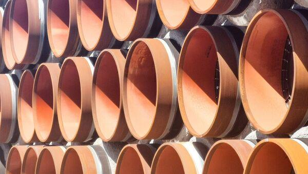 Трубы для строительства газопровода - Sputnik Узбекистан
