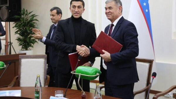 Одил Ахмедов открыл свою футбольную академию в Национальном университете Узбекистана - Sputnik Ўзбекистон